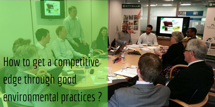 How to get a competitive edge through good environmental practices?